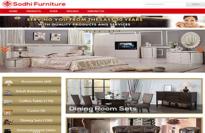Sodhi Furniture - Web Application